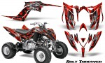 Yamaha Raptor YFM700R 2013 CreatorX Graphics Kit Bolt Thrower Red 150x90 - Yamaha Raptor 700 2013-2018 Graphics