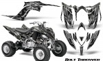 Yamaha Raptor YFM700R 2013 CreatorX Graphics Kit Bolt Thrower Silver 150x90 - Yamaha Raptor 700 2013-2018 Graphics