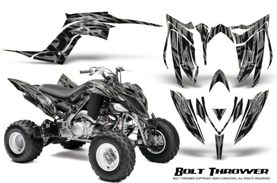 Yamaha Raptor YFM700R 2013 CreatorX Graphics Kit Bolt Thrower Silver 570x376 - Yamaha Raptor 700 2013-2018 Graphics