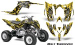Yamaha Raptor YFM700R 2013 CreatorX Graphics Kit Bolt Thrower Yellow 150x90 - Yamaha Raptor 700 2013-2018 Graphics