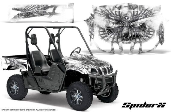 Yamaha Rhino Graphics Kit SpiderX White 570x376 - Yamaha Rhino 700/660/450 Graphics