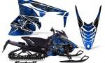 Yamaha Viper 2014 CreatorX Graphics Kit SpiderX Blue 150x90 - Yamaha Viper SR/SRT 2014-2016 Graphics