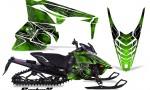 Yamaha Viper 2014 CreatorX Graphics Kit SpiderX Green 150x90 - Yamaha Viper SR/SRT 2014-2016 Graphics