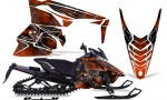 Yamaha Viper 2014 CreatorX Graphics Kit SpiderX Orange Dark 150x90 - Yamaha Viper SR/SRT 2014-2016 Graphics