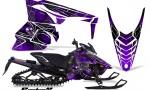 Yamaha Viper 2014 CreatorX Graphics Kit SpiderX Purple 150x90 - Yamaha Viper SR/SRT 2014-2016 Graphics