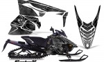 Yamaha Viper 2014 CreatorX Graphics Kit SpiderX Silver 150x90 - Yamaha Viper SR/SRT 2014-2016 Graphics