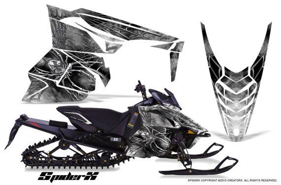 Yamaha Viper 2014 CreatorX Graphics Kit SpiderX White 570x376 - Yamaha Viper SR/SRT 2014-2016 Graphics