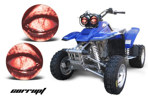 Yamaha Warrior Headlight Corrupt 570x376 - Yamaha Warrior Head Light Eye Graphics for Warrior 350