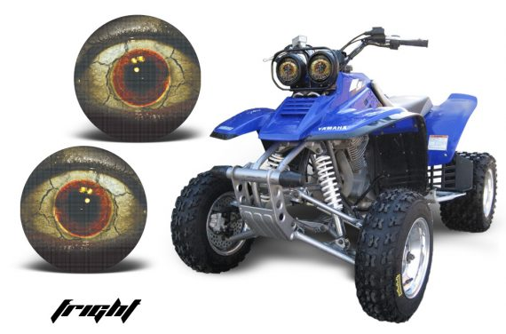 Yamaha Warrior Headlight Fright 570x376 - Yamaha Warrior Head Light Eye Graphics for Warrior 350