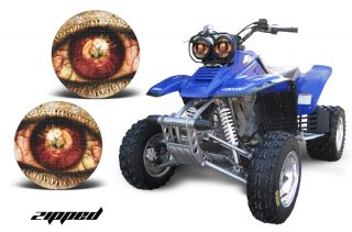 Yamaha Warrior Head Light Eye Graphics for Warrior 350