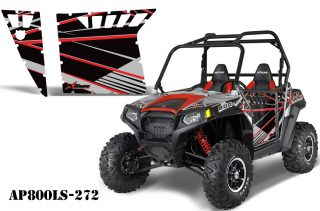 Polaris RZR-S 800 Graphics for Pro Armor Doors