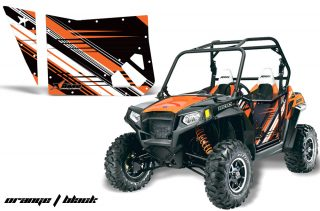 Polaris RZR 800 Graphics for Bling Star Doors