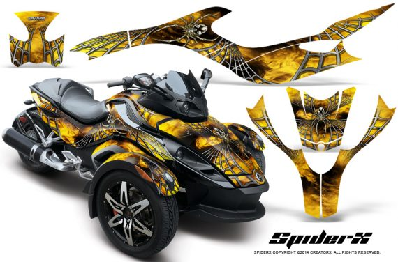 Can-Am Spyder RS GS Graphics