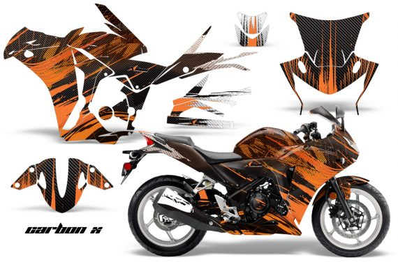 Honda CBR 250R Sport Bike Graphics 2010-2013