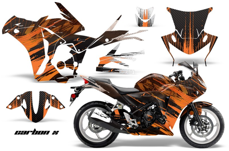 Honda CBR 250R Sport Bike Graphics 2010-2013