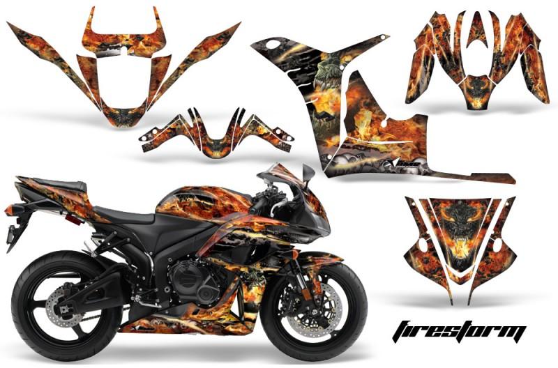Honda CBR 600RR Sport Bike Graphics 2007-2008