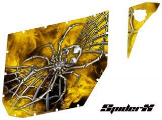 Can-Am Commander CREATORX Graphics for Pro Armor Doors