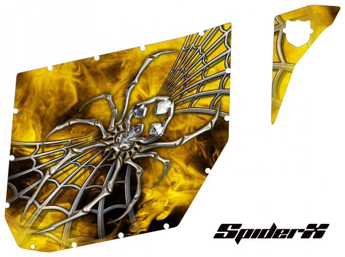 Can-Am Commander CREATORX Graphics for Pro Armor Doors