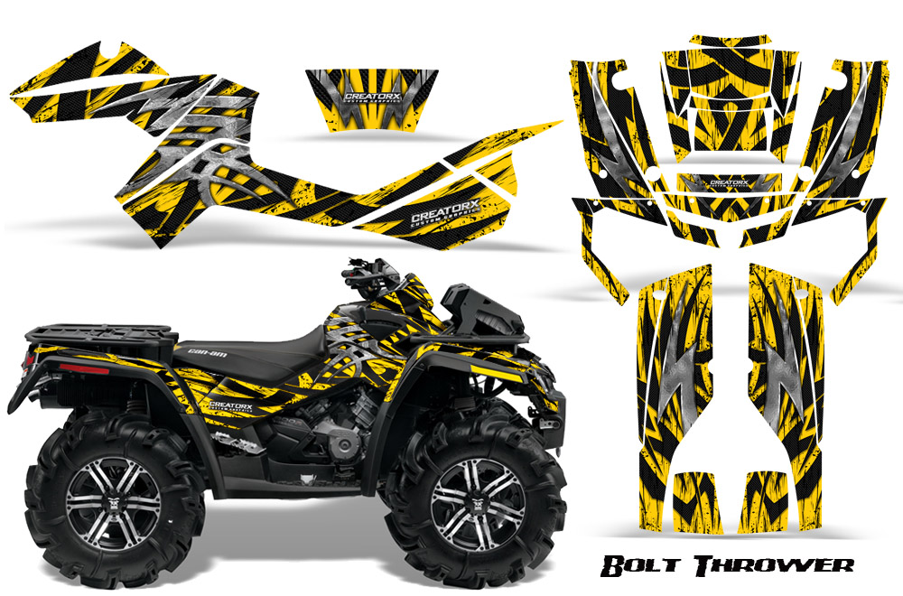 Can-Am Outlander XMR 500/650/800R Graphics 2006-2012