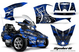 Can-Am Spyder RTS Graphics with Trim Kit