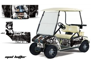Club Car Golf Cart Graphics 1983-2014