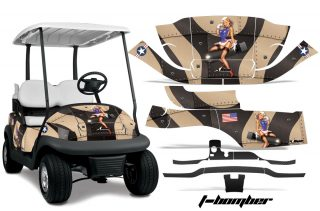 Club Car Golf Cart Precedent I2 Graphics 2008-2013