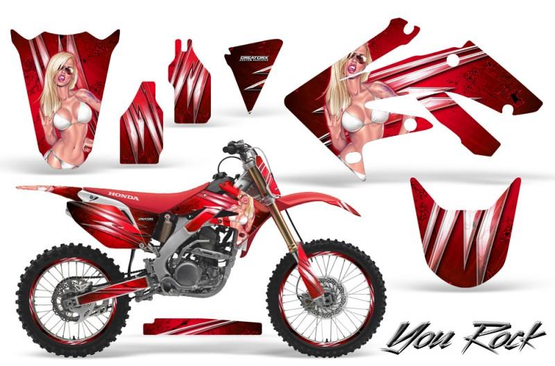 Honda CRF250R Graphics 2004-2012