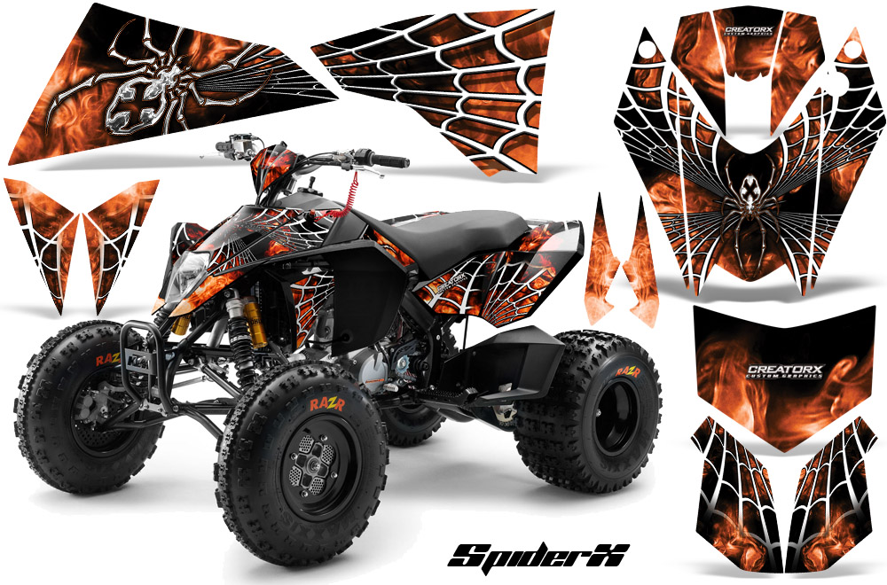 Custom Quad Decals