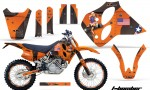 KTM C0 SX XC LC4 Four Stroke Graphics 1993-1997