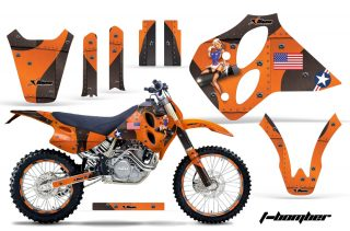 KTM C0 SX XC LC4 Four Stroke Graphics 1993-1997