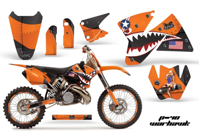 KTM C2 SX 1998-2000 125-520 EXC Graphics