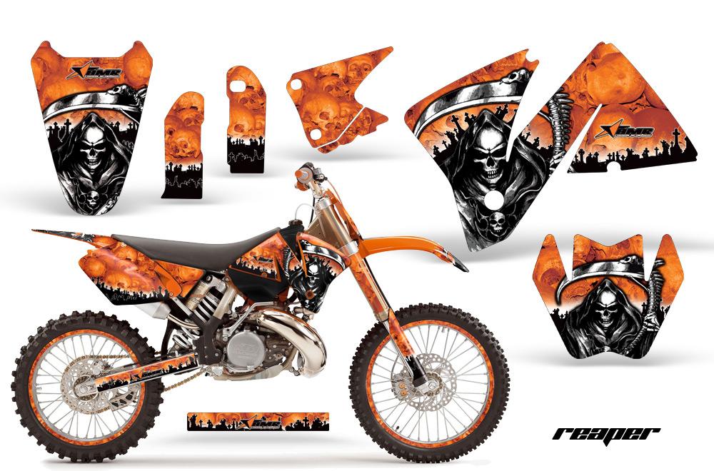 KTM C MXC EXC Graphics CREATORX Graphics MX - Decal graphics for dirt bikes