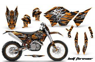 KTM C5 SX/SX-F 125-525 07-10 / XC 125-525 08-10 / XCW 200-530 2011 / XCFW 250 2011 / EXC 125-530 08-11 Graphics