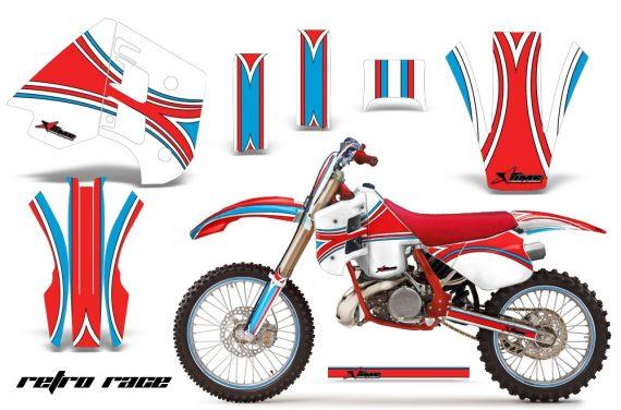KTM C8 EXC/MXC 250/300 Graphics 1990-1992