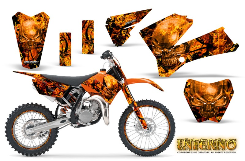 KTM SX 85/105 Graphics 2006-2012