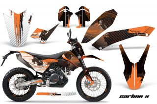 KTM Adventurer 690 Supermoto/Enduro Bike Graphics 2008-2011