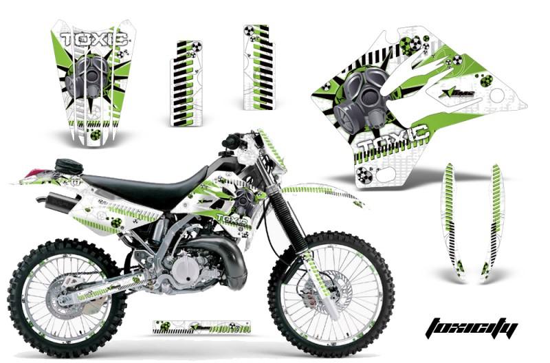 Kawasaki KDX200 1995-2006 - KDX220 Graphics 1997-2005