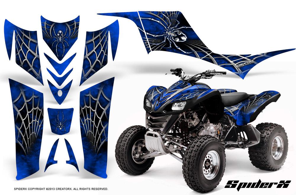 Kawasaki KFX 700 Graphics | CREATORX Graphics MX & ATV Decals, Sled ...