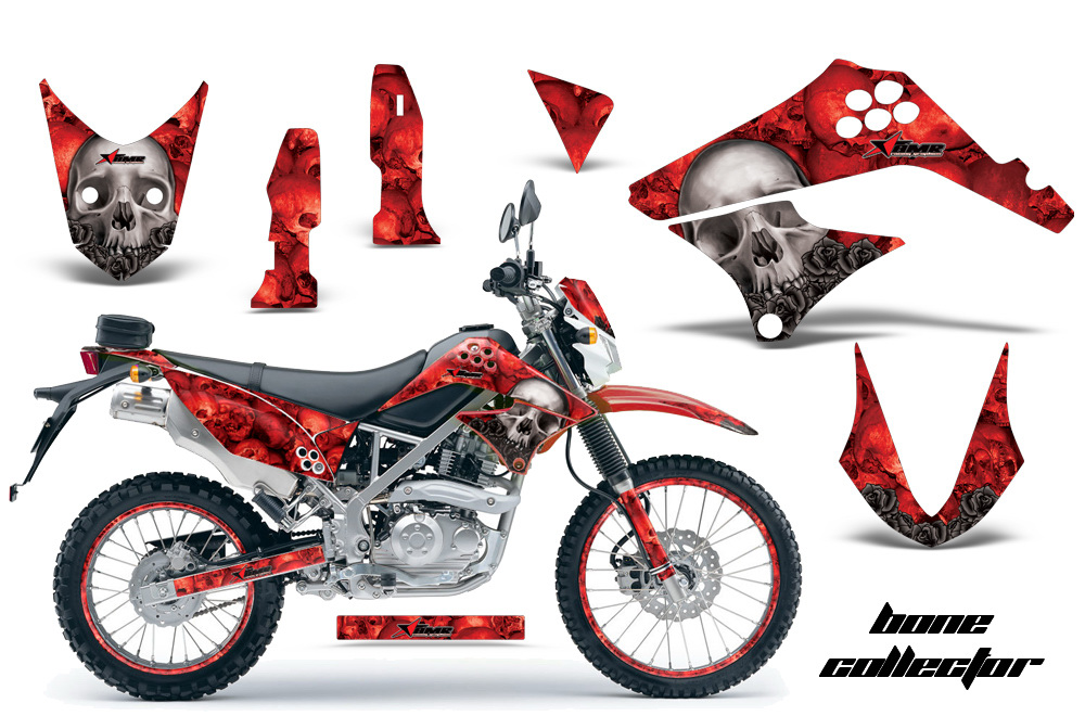 Kawasaki Klx125 D Tracker 2010 2013 Graphics
