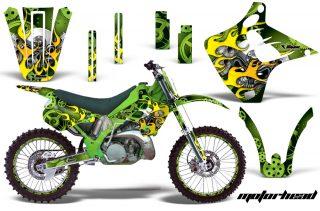 Kawasaki KX125/250 Graphics 1990-1991