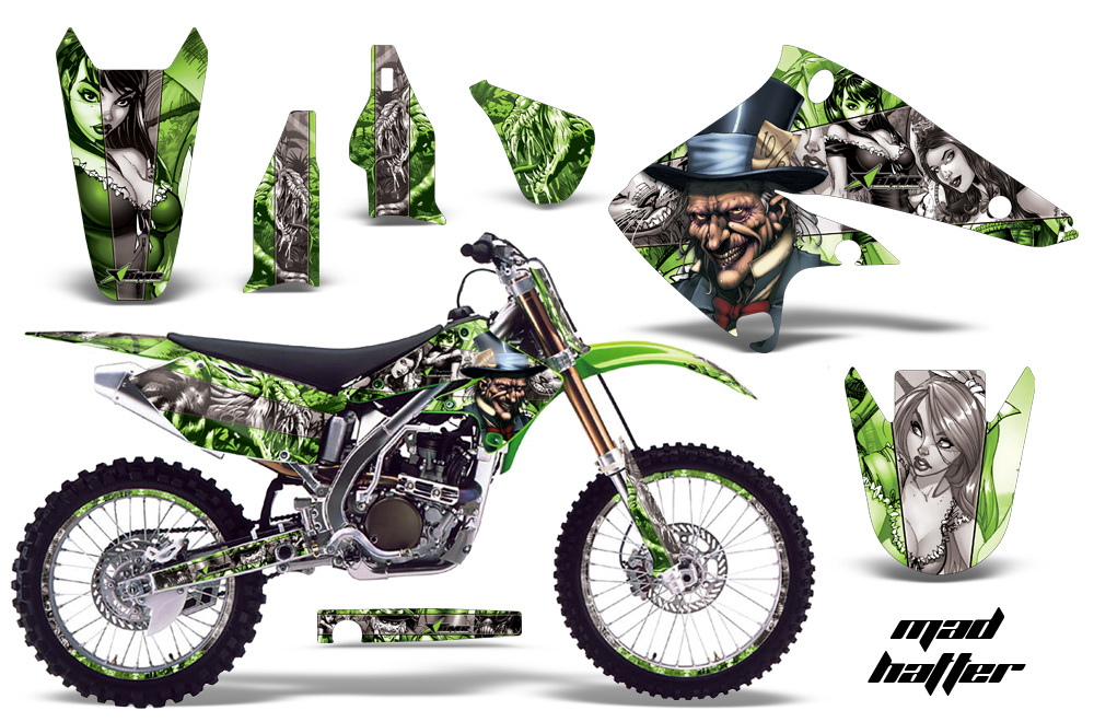 Kawasaki KX250F Graphics 2004-2005