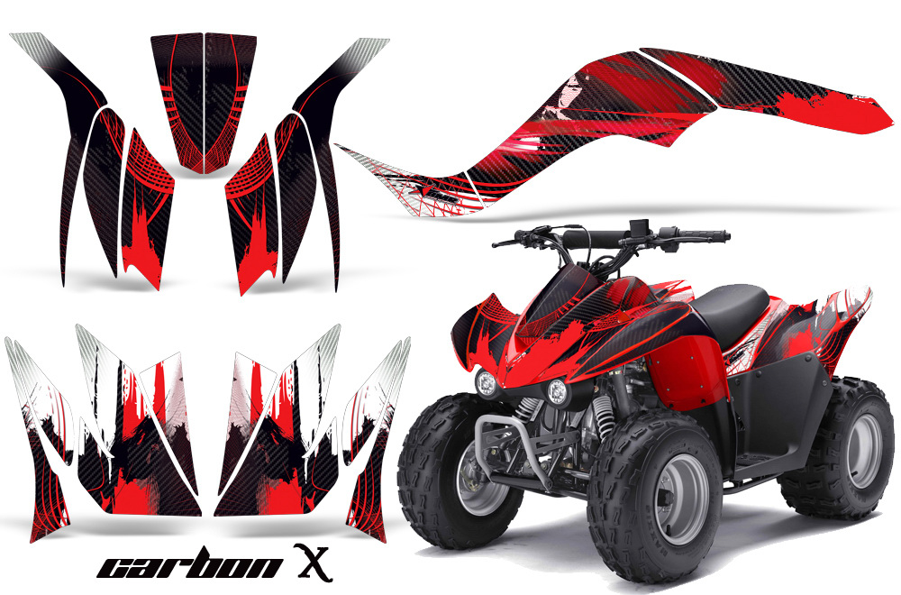 Kawasaki KFX 90 Graphics 2007-2012
