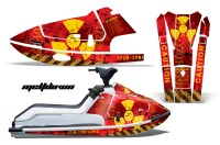 Kawasaki X2 650 Jet Ski Graphics 1986-1995