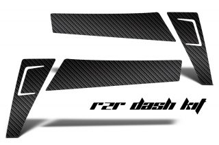 Polaris Ranger RZR 570/800/900 XP Carbon Fiber Dash Graphics