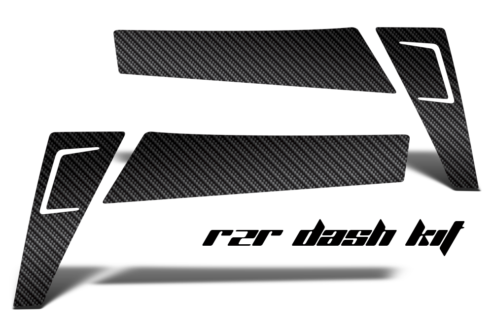 Polaris Ranger RZR 570/800/900 XP Carbon Fiber Dash Graphics