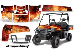 Polaris Ranger 500 XP 700 XP 4x4 EFI Graphics 2009