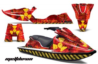 Sea Doo XP Bombardier Sitdown Jet Ski Graphics 1994-1996