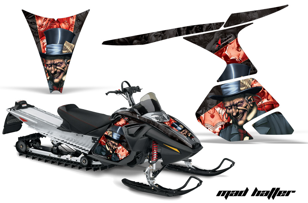 Ski doo snowmobile graphics product categories creatorx ski doo rt mach z graphics sciox Images