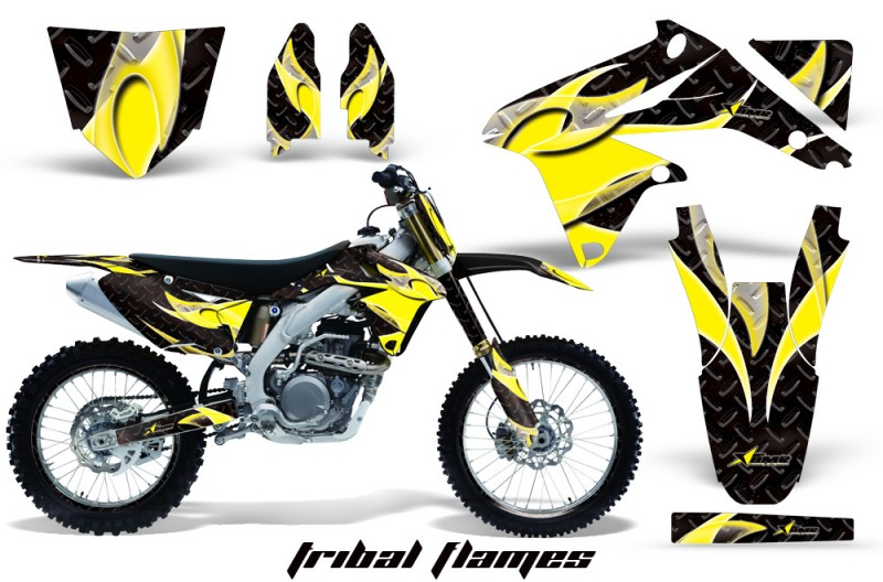 Suzuki Dirt Bike Graphics CREATORX Graphics MX ATV Decals - Decal graphics for dirt bikes