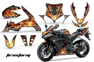 Yamaha R1 Graphics 2010-2012